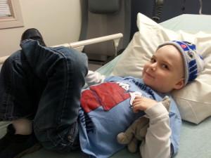 Cub Robertson is making progress in his battle against leukemia.