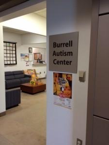 Burrell Autism Center Lobby