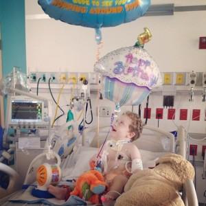 Liam Byars' family appreciates the H.O.P.E. Foundation's support.