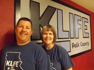 Chuck and Jamie Martin lead Polk County KLIFE.