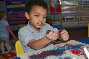Kids learn in a variety of ways at Summit Preparatory School.