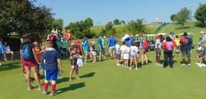 Junior-big crowd