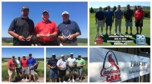 Cardinals Care Pro-Am winners